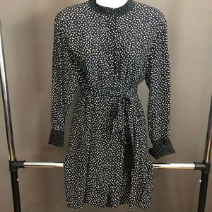 Diane Von Furstenberg polka dot silk dress
